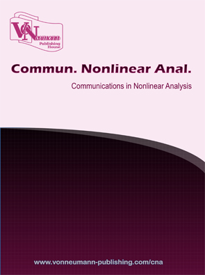 Communications in Nonlinear Analysis